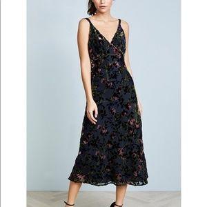 Beautiful Wayf Sedona Bias Velvet Burnout Dress